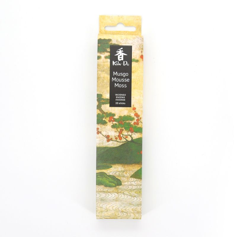 Box of 20 incense sticks, KOH DO - MOUSSE, Sandalwood and Moss