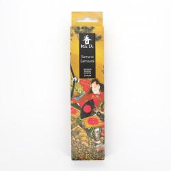 Confezione da 20 bastoncini di incenso, KOH DO - SAMURAI, legno di sandalo e spezie