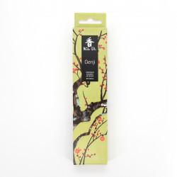 Confezione da 20 bastoncini di incenso, KOH DO - GENJI, Narciso e Muschio