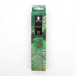 Scatola da 20 bastoncini di incenso, KOH DO - HINOKI, cedro giapponese