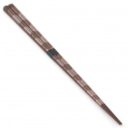 brown japanese chopsticks, large UZUMAKI