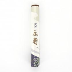 50 bastoncini di incenso in rotolo, JINKO EIJU, legno di agar