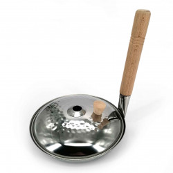 Padella e coperchio in acciaio inossidabile per Oyako-Don 16 cm