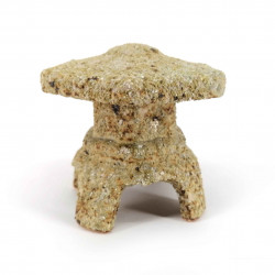 Small ceramic lantern ornament, stone look - TORO