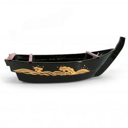 Sushi presentation boat, in lacquered resin - NAMI