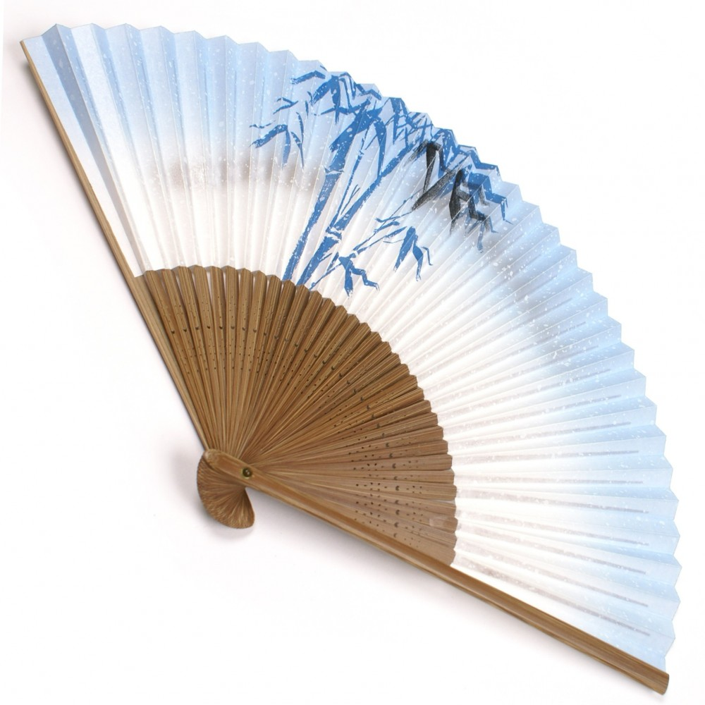 japanese fan bamboo & paper TAKE 2