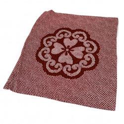 Pillowcase 55x59 cm, red - SHIBORI