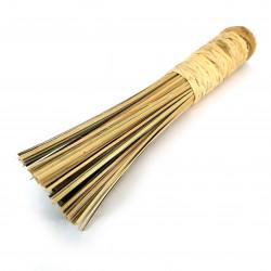 Bamboo deglazing brush with braided handle - TAKE BURASHI