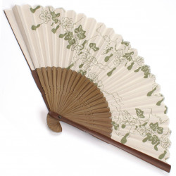 japanese fan bamboo & cotton HYOTAN