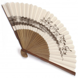 japanese fan bamboo & cotton UMAKUIKU