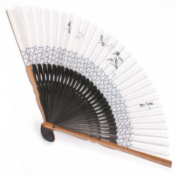 japanese fan bamboo & cotton KAGERO 2