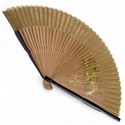 japanese fan bamboo & cotton TAKE 4