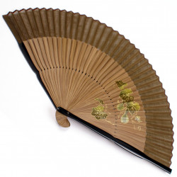 japanese fan bamboo & cotton HYOTAN 2