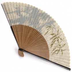 japanese fan bamboo & silk TAKE 3