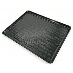Japanese non-slip tray, black - HENSO