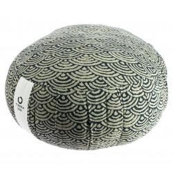 Round meditation cushion, ZAFU SEIGAIHA