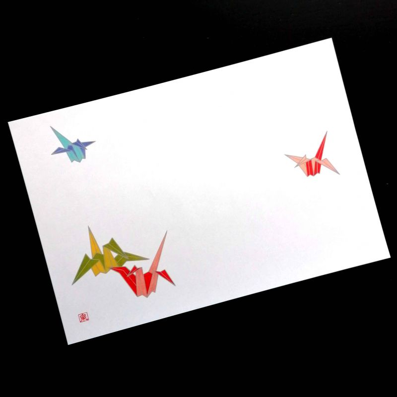 10 placemats in smooth paper - CRANE