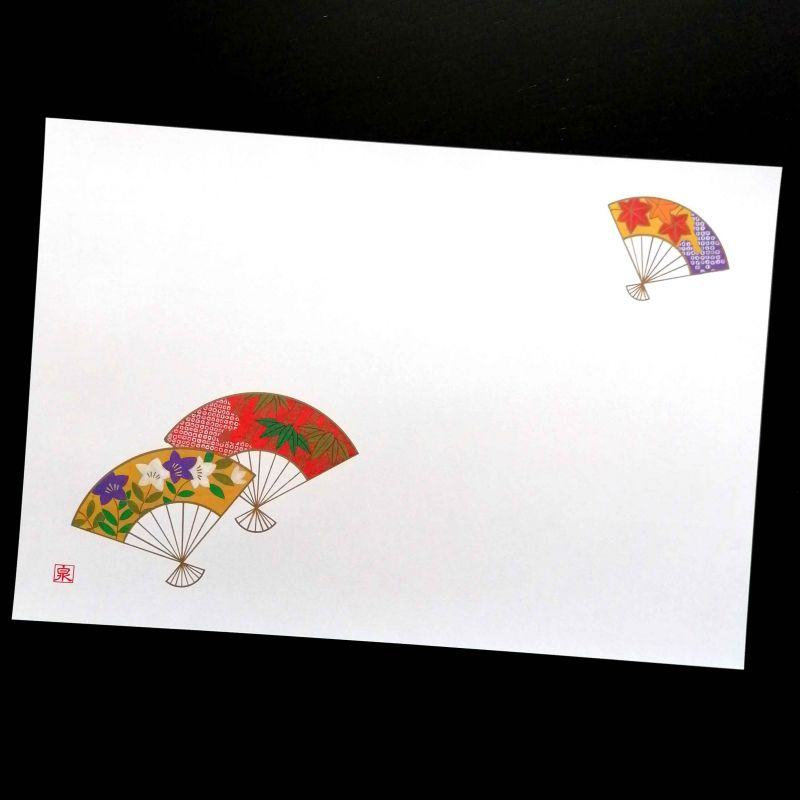 10 placemats in smooth paper - FAN