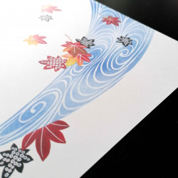 10 placemats in smooth paper - MOMIJI KAWA