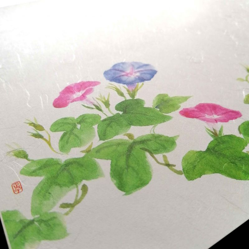 10 mulberry paper placemats - ASAGAO