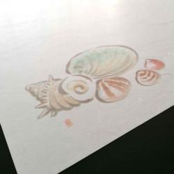 10 mulberry paper placemats - SHERU