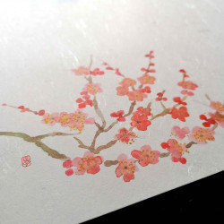 10 mulberry paper placemats - UME