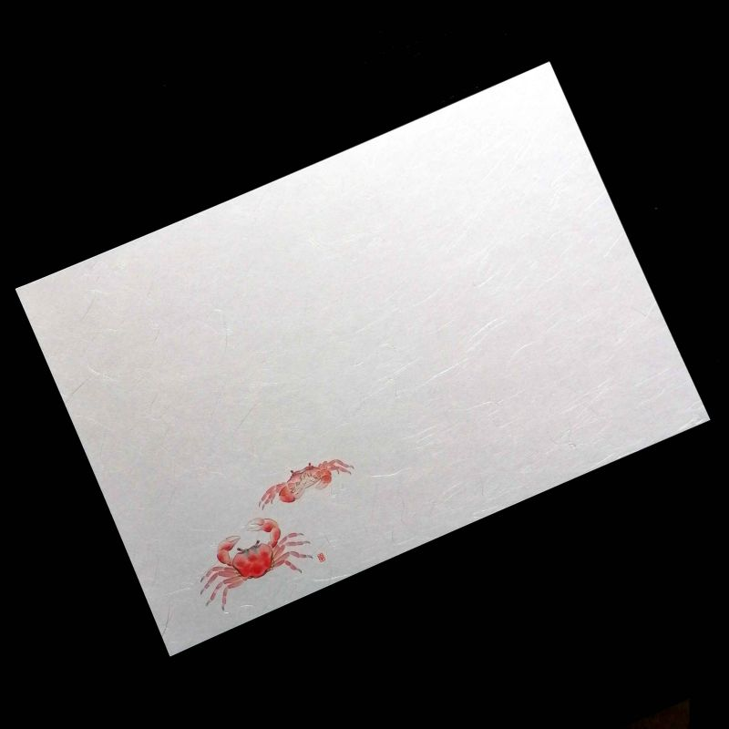 10 mulberry paper placemats - KANI
