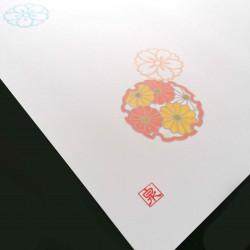 10 placemats in smooth paper - FUREKU