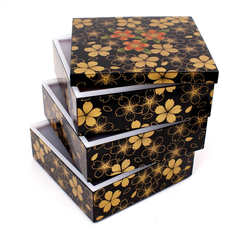 japanese bento box lunch box 12tos135409. Black Bedroom Furniture Sets. Home Design Ideas
