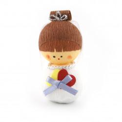 bambola giapponese, fatta di carta - okiagari, SHINPU, la sposa