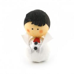 poupée japonaise okiagari doll white SHINRO
