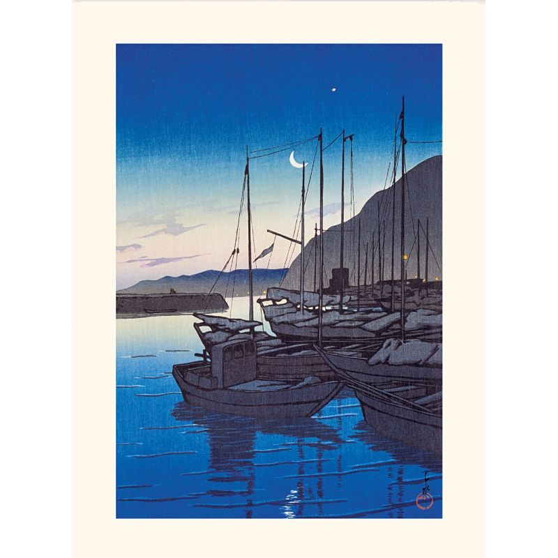 Stampa giapponese, Morning in Beppu, Kawase Hasui