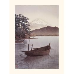 Japanese print, The Azuma Gorge, Kawase Hasui