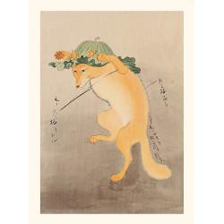 Japanese print, Passereau, Ohara Koson