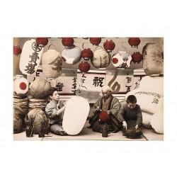 Ancient photography, Ancient Japan, Meiji era, Lantern makers