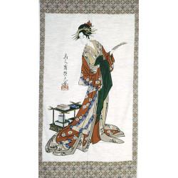 rideau japonais NOREN UTAYOMI