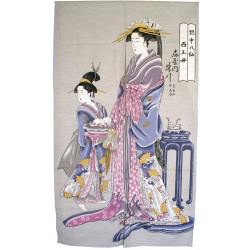 Japanese curtain NOREN OIRAN