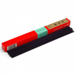 Box of 30 long-lasting incense sticks, DAIGEN KOH, Rosewood