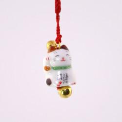 japanischer dekorativer katze haken für telefon, MANEKINEKO, tricolor