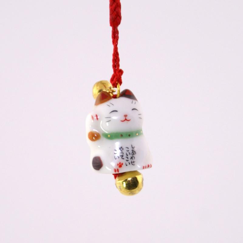 accroche décorative japonaise pour téléphone chat 7348