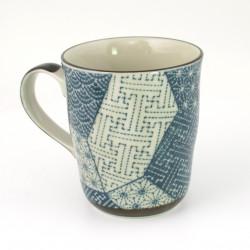 tasse japonaise à thé avec anse en céramique MYAKPABM