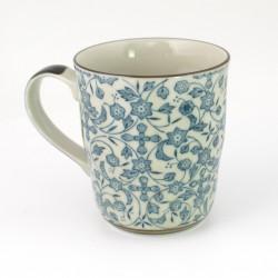 tasse japonaise à thé avec anse en céramique MYAKKUBM