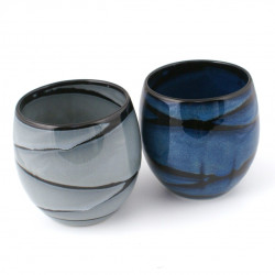 duo of Japanese tea cups ceramic MYA575651