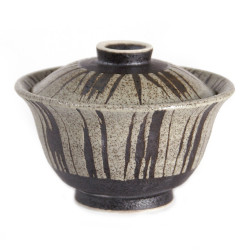 Japanese ceramic bowl with lid MYA103522
