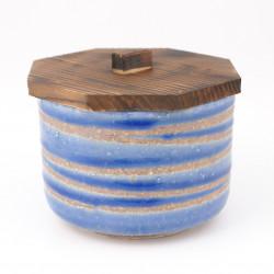 Japanese ceramic bowl with lid MYA3522720