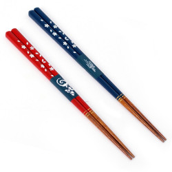 pair of Japanese chopsticks Hirari wood