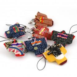 accroche japonaise décoration pour téléphone kimono