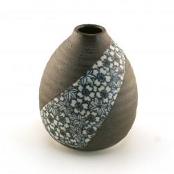 japanese blue cherry blossom maple soliflore vase SAKURA MOMIJI ICHIRINSASHI