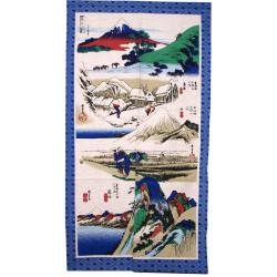 rideau japonais NOREN TOKKAIDO