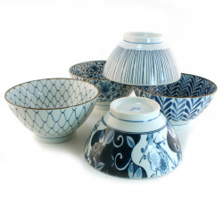 set of 5 Japanese ramen bowls 16M1631756
